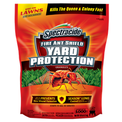 Spectracide Fire Ant Shield Yard Protection Granules