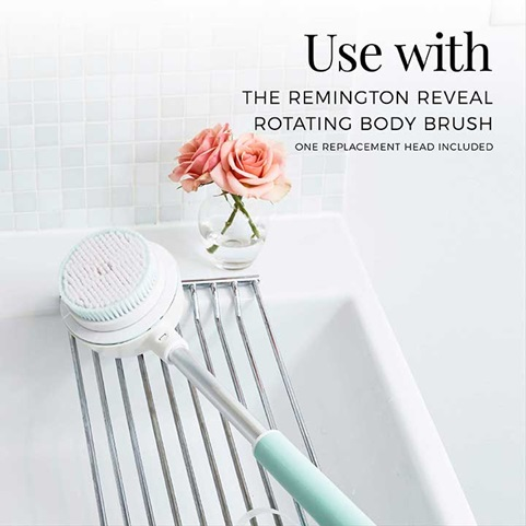 Use with the REMINGTON Reveal rotating body brush | SP-BB1B