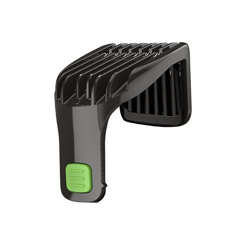 Spare Part 2-18mm Adjustable Comb Product Rendering for the MB6850 Mustache and Beard Trimmer