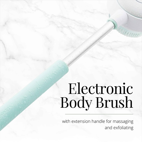 Rotating Body Cleansing Brush Remington