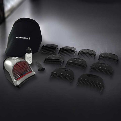 Remington® Lithium Shortcut Pro Self-Haircut Kit, 9 Pieces, HC4250