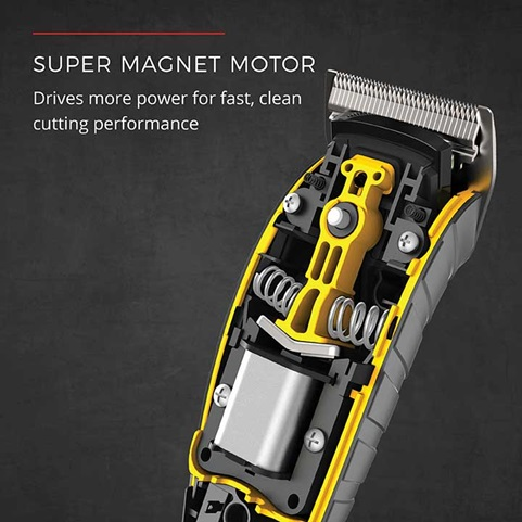 Super Magnet Motor - Drives more power for fast, clean cutting performance