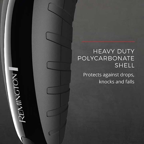Heavy Duty Polycarbonate Shell - Protects against drops, knocks and falls