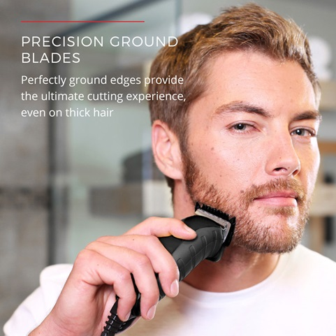 Precision Ground Blades. Perfectly ground edges provide the ultimate cutting experience, even on thick hair