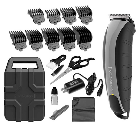 Virtually Indestructible Barbershop Clipper, Lithium Rechargeable Battery, 20-Piece Kit, HC5870