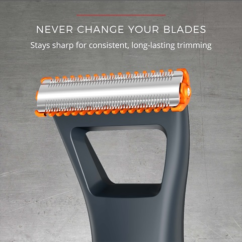 remington durablade lithium trimmer and shaver never change blades mb040