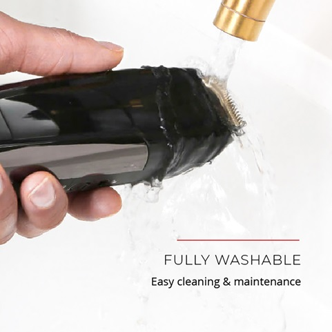 Fully Washable. Easy cleaning and maintenance