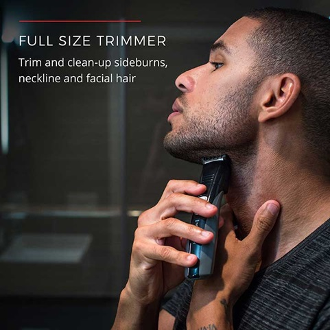Full Size Trimmer | Trim and clean-up sideburns, neckline and facial hair
