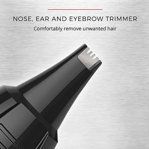 Nose, Ear and Eyebrow Trimmer | Comfortably remove unwanted hair