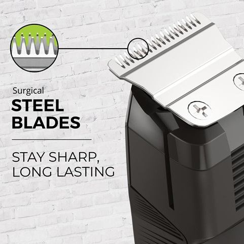 Surgical Steel Blades. Stay sharp, long lasting.