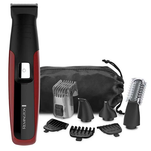 REMINGTON® Face, Head & Body Grooming Kit, Red, PG6155B