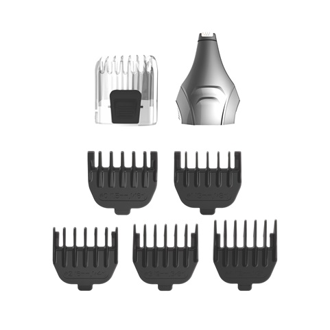 F0050GPHOL REMINGTON® All-in-One Shave & Detail Grooming Set 5000 Accessories Renders