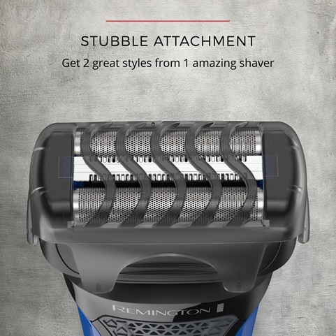 Stubble Attachment. Get 2 great styles from 1 amazing shaver.