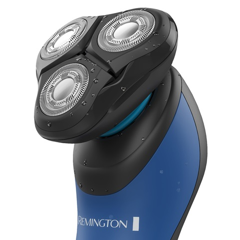 Maximum Comfort Hyperflex Advanced Rotary Shaver close up of head XR1450