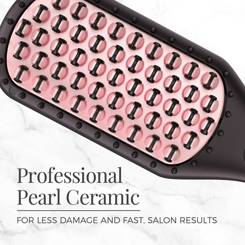 Professional pearl ceramic for less damage and fast, salon results.