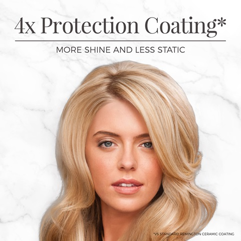 4 time protection coating. More shine and less static. Vs standard Remington ceramic coating