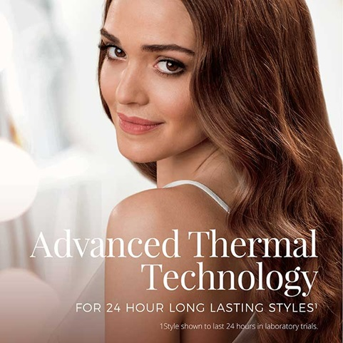 Advanced thermal technology for 24 hour long lasting styles