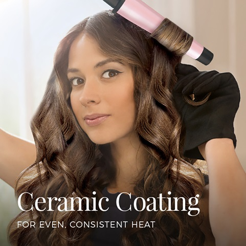 Ceramic coating for even, consistent heat