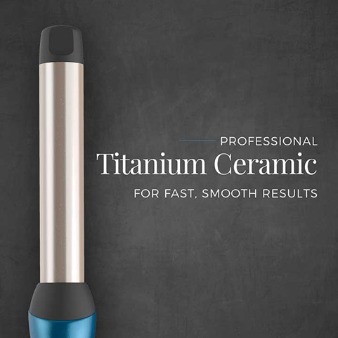 Professional Titanium Ceramic for fast, smooth results