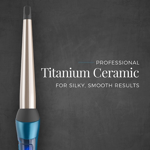 Professional Titanium Ceramic for silky, smooth results