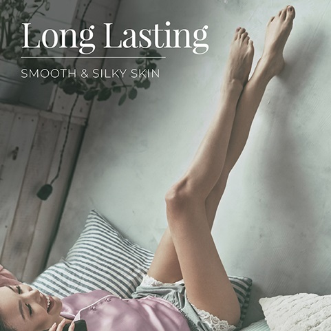 Smooth & Silky® Essential Epilator for long-lasting smooth and silky skin - EP7010GCDN