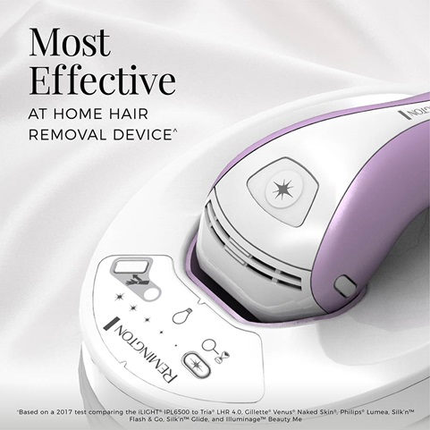 IPL6000Q The Most Effective at Home Hair Removal Device^ with nearly 2X better results in fewer treatments