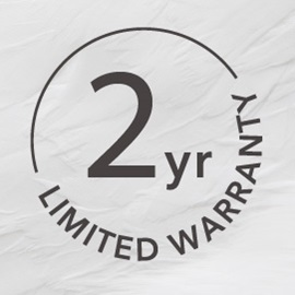 two year limited warranty