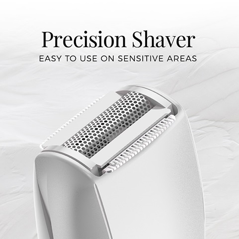 Smooth & Silky Bikini Shaver & Trimmer. Precision shaver is easy to use on sensitive areas - WPG4110BCDN