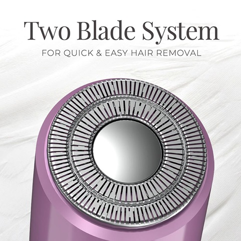 WPG4200 Luxury Facial Hair Remover - Two Blade System. For quick and easy hair removal
