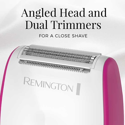 Angled Head and Dual Trimmers - For a close shave