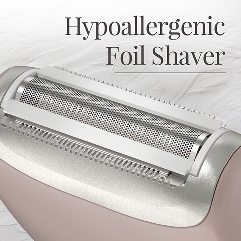 Smooth & Silky 3-Blade Hypoallergenic Foil Shaver - WSF5050CDN