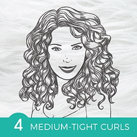 Medium Tight Curls