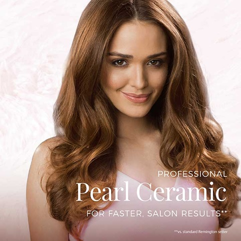 Professional Pearl Ceramic for faster, salon results.
