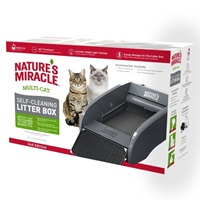 Odor Control Receptacles Self-Clearning Litter Box Refills