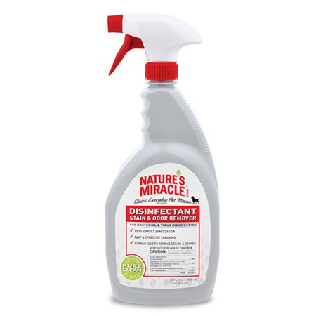 Disinfectant Stain and Odor Remover for Dogs | Nature's Miracle
