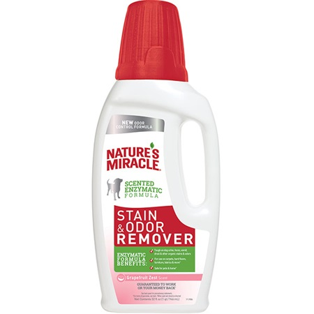 Stain And Odor Remover For Dogs Grapefruit Zest Scent