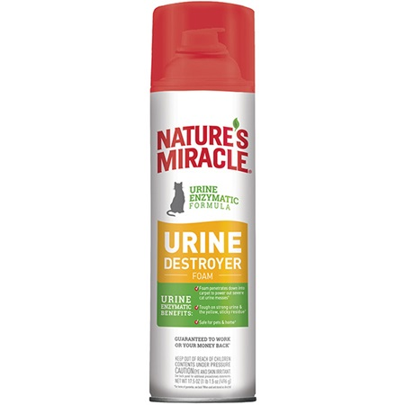 Urine Destroyer For Cats Foam Nature S Miracle