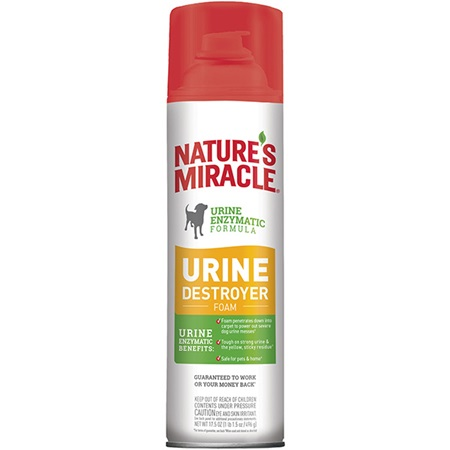 Urine Destroyer For Dogs Foam Nature S Miracle