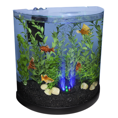Bubbling Led Kit 3 Gallon Halfmoon Tetra