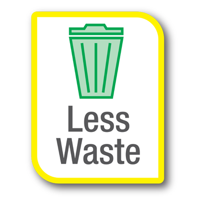 Less Waste Icon