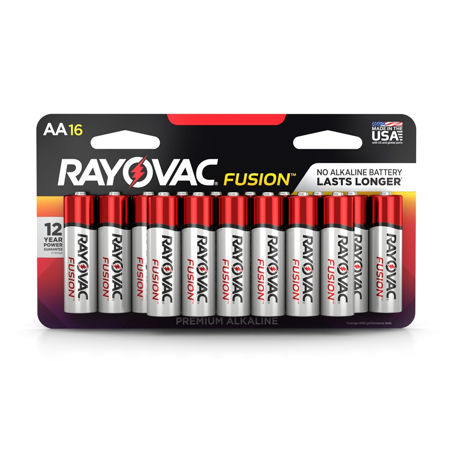 815-16LTFUSK AA 16-Pack FUSION ™ Premium Batteries