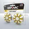 rayovac hearing aid batteries size 10 16 pack 5