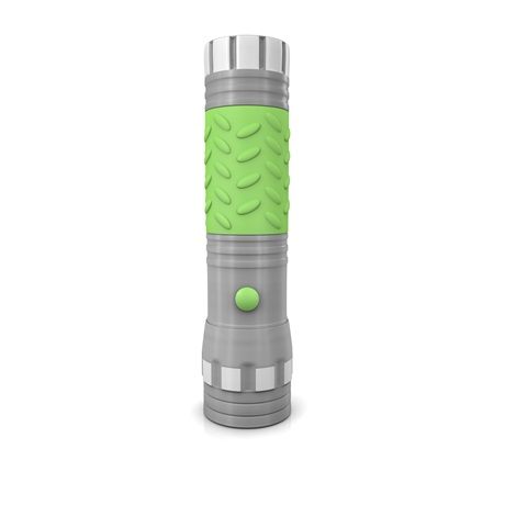 Brilliant Solutions™ 14 LED Glow In The Dark Light Flashlight Standing