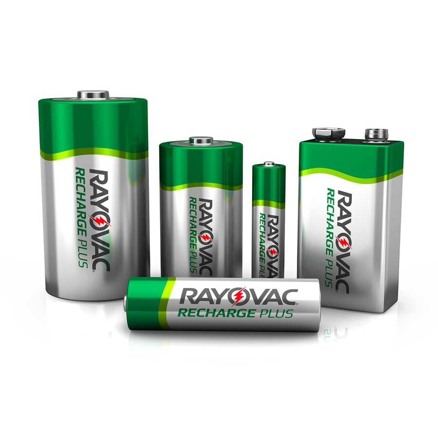 Recharge Plus AA-4 Pack Rechargeable Batteries