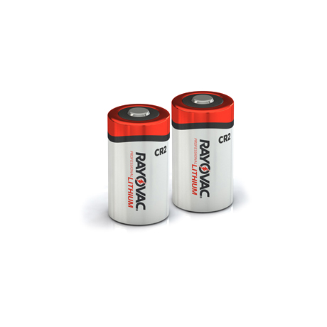 RAYOVAC® photo lithium batteries cr2 2 pack