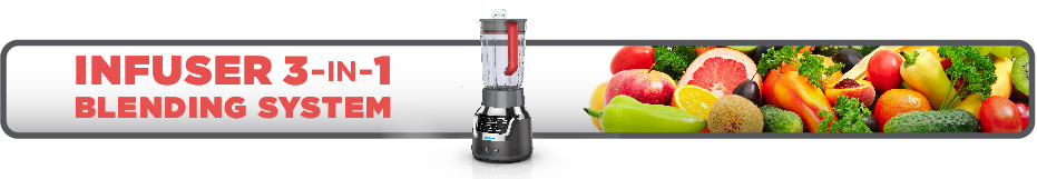 Black and Decker BL1350DPP Infusion Blender Banner Image