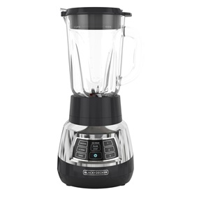 BL1400DG-P Quiet Blender with Cyclone Glass Jar front view