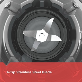 4-Tip Stainless Steel Blade