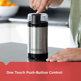 One touch push-button control