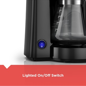 Lighted On/Off Switch
